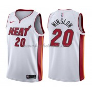 Miami Heat Basket Tröja 2018 Justise Winslow 20# Association Edition..